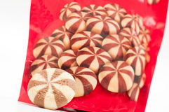 Turkish cookies bag Stock Images