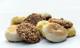 Turkish cookies. Surrounded by white background Stock Photos
