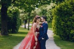 Turkish couple stock image