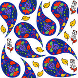 Turkish cucumber seamless pattern and seamless pattern in swatch menu,  illustration Stock Photo