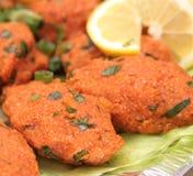 Turkish cuisine. Bulgur and lentil vegetarian dumplings ( Mercimekli Kofte ) Stock Images