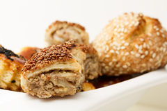Turkish Cuisine - Pastry closeup Royalty Free Stock Photos