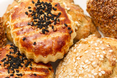 Turkish Cuisine - Sweet and salty Pastry - Closeup Stock Images