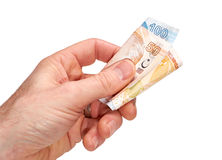 Turkish Currency Royalty Free Stock Images