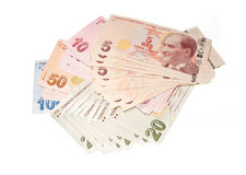 Turkish Currency Stock Image