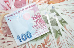 Turkish Currency Royalty Free Stock Photos