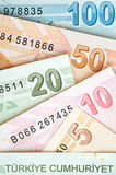 Turkish Currency Stock Images