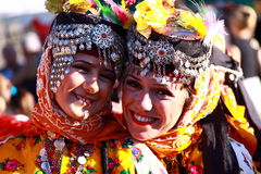 Turkish dancers Royalty Free Stock Image