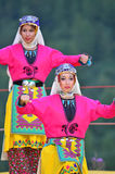 Turkish Dancers Stock Photo