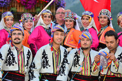 Turkish Dancers Stock Photography