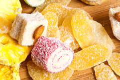 Turkish delight. Authentic, candy, color royalty free stock image