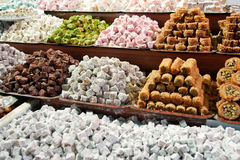 Turkish delight Stock Photos