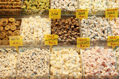 Turkish Delight. A view of Turkish Delight. It's a popular food in Turkey stock photo