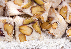 Turkish delight. A traditional sweets, turkish delight Royalty Free Stock Photography