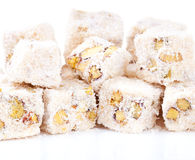 Turkish delight. A traditional sweets, turkish delight royalty free stock images