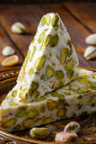 Turkish delight. Arabic dessert with and Royalty Free Stock Photo