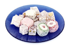 Turkish Delight assortment Stock Photo