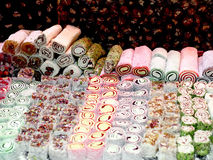 Turkish Delight assortment Royalty Free Stock Photos