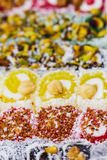 Turkish delight Stock Image