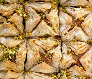 Turkish delight baklava Royalty Free Stock Photo