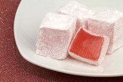 Turkish delight Stock Images