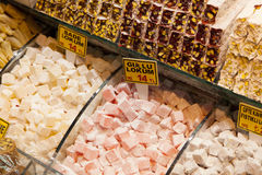 Turkish delight colors Stock Images