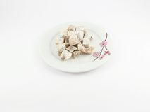 Turkish delight in dish Royalty Free Stock Photo