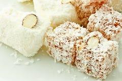 Turkish delight, famous dessert of Tutkey Stock Image