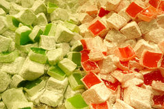 Turkish delight in Istanbul Stock Image
