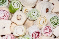 Turkish Delight, Royalty Free Stock Photography