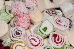 Turkish Delight, Stock Image