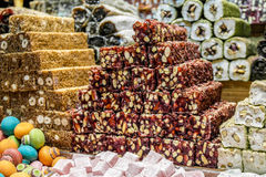 Turkish delight or lokum Royalty Free Stock Images