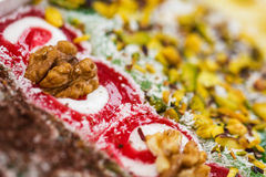 Turkish delight. Lokum Royalty Free Stock Photos