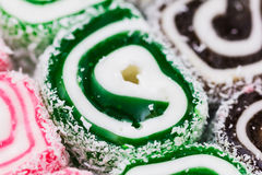 Turkish delight. Lokum Stock Photography