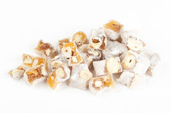 Turkish delight with nuts Stock Image