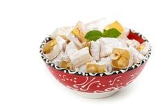 Turkish Delight Nuts Rahat Locum Stock Image