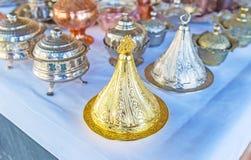 Turkish Delight serving dish, Antalya Stock Photography