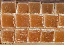 Turkish delight in a shop royalty free stock photos