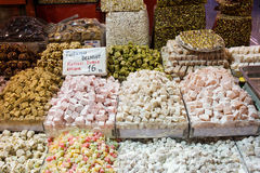 Turkish Delight Sweets Royalty Free Stock Images