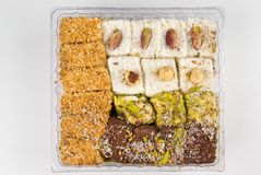 Turkish Delight Sweets Stock Photos