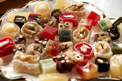 Turkish delights Royalty Free Stock Photos