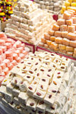 Turkish delights sweets Stock Image