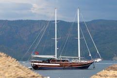turkish denny jacht Obrazy Stock