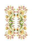 Turkish design basic. Turkish were inspired by traditional oriental embroidery pattern Royalty Free Stock Photos