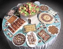 Turkish dessert Royalty Free Stock Image