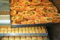 Turkish dessert Royalty Free Stock Image