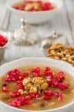 Turkish Dessert Ashura Royalty Free Stock Photography