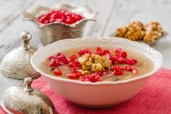 Turkish Dessert Ashura Royalty Free Stock Image