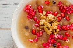 Turkish Dessert Ashura Stock Photo