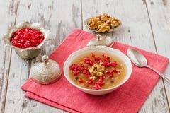 Turkish Dessert Ashura Royalty Free Stock Photos